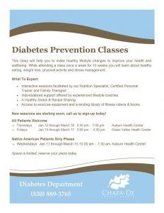 diabetes prevention-chapa de diabetes department