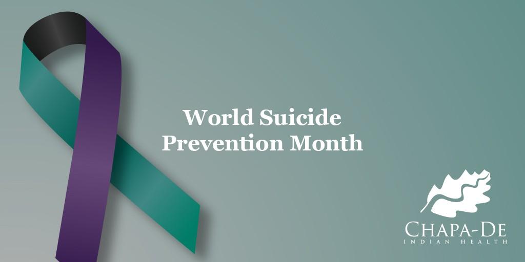 mental health services auburn | Chapa-De World Suicide Prevention Day