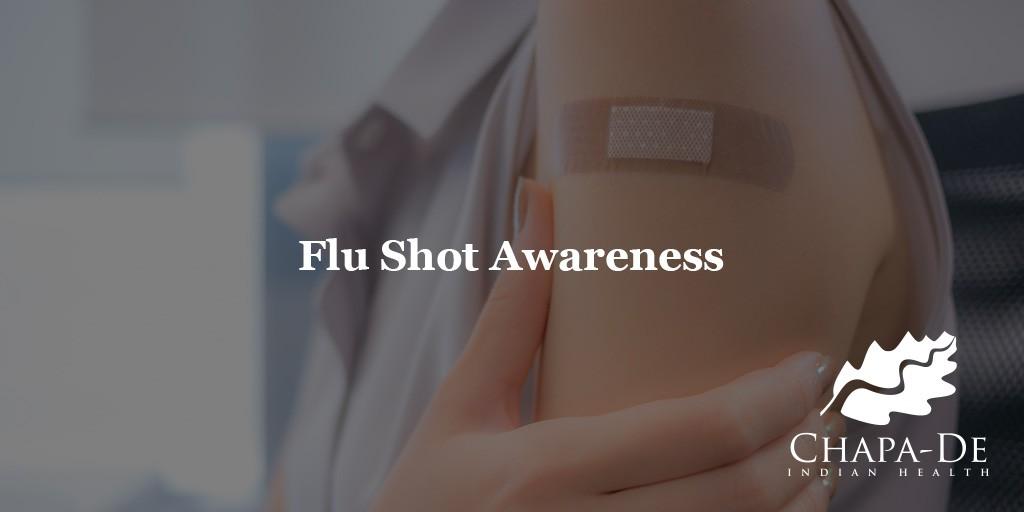 Flu Shot Awareness Chapa De Auburn Grass Valley