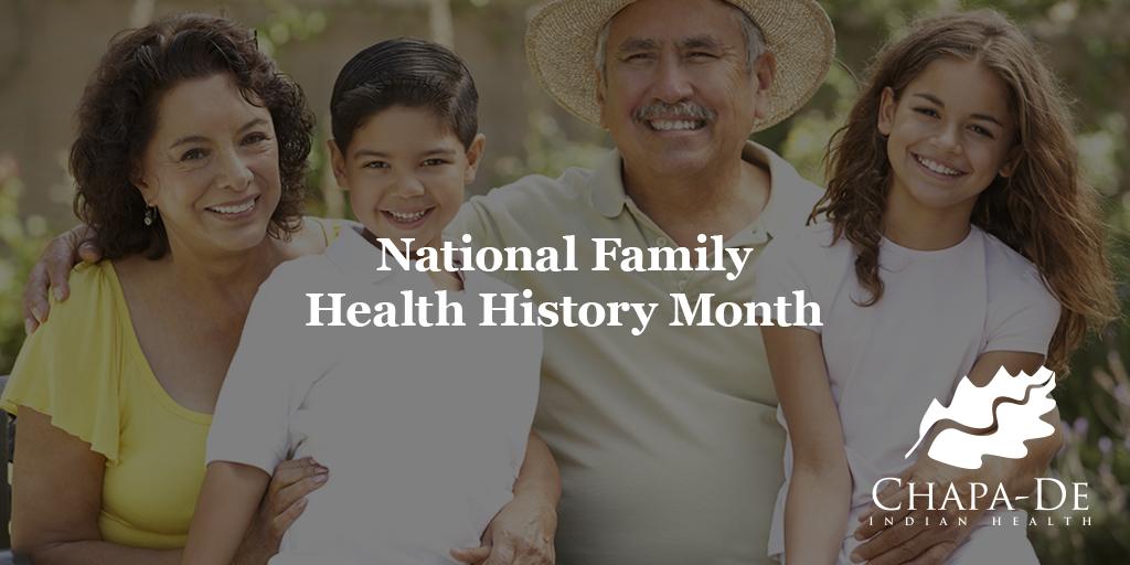National Family Health History Month Chapa De