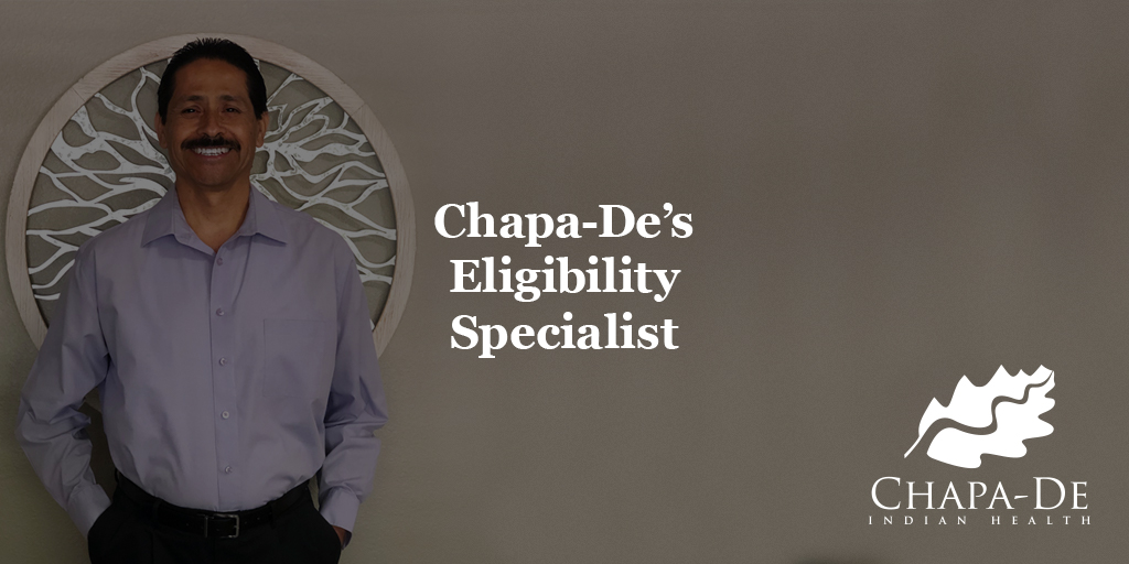 Eligibility Specialist  Chapa-De Indian Health Auburn Grass Valley | Medical Clinic