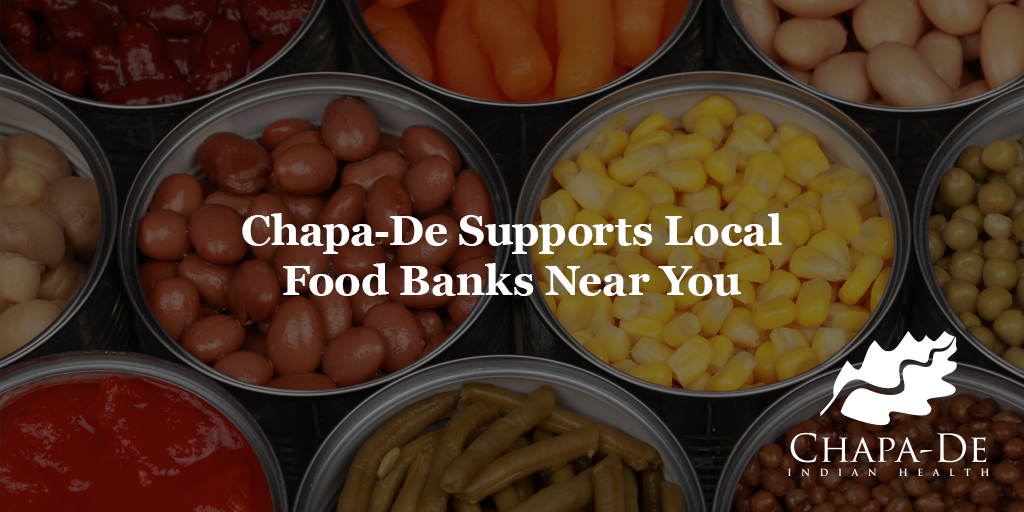 Chapa-De Supports Local Food Banks Near You
