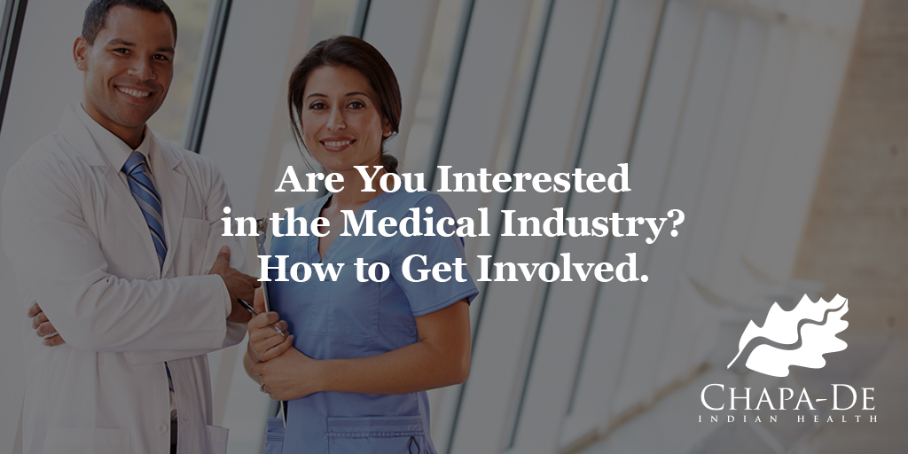 Medical Industry? How to Get Involved
